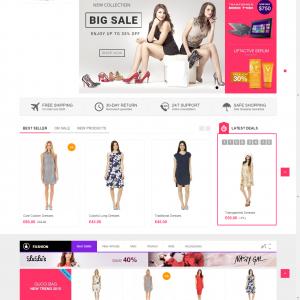 E-Commerce Theme - Kute Online Shop