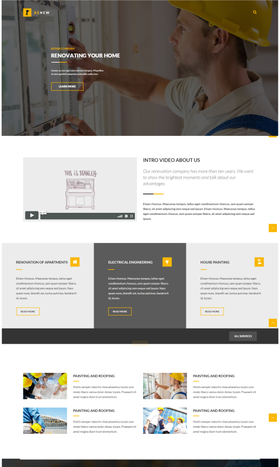 Business Theme - Renew