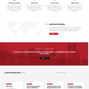 Business Theme - Consulting