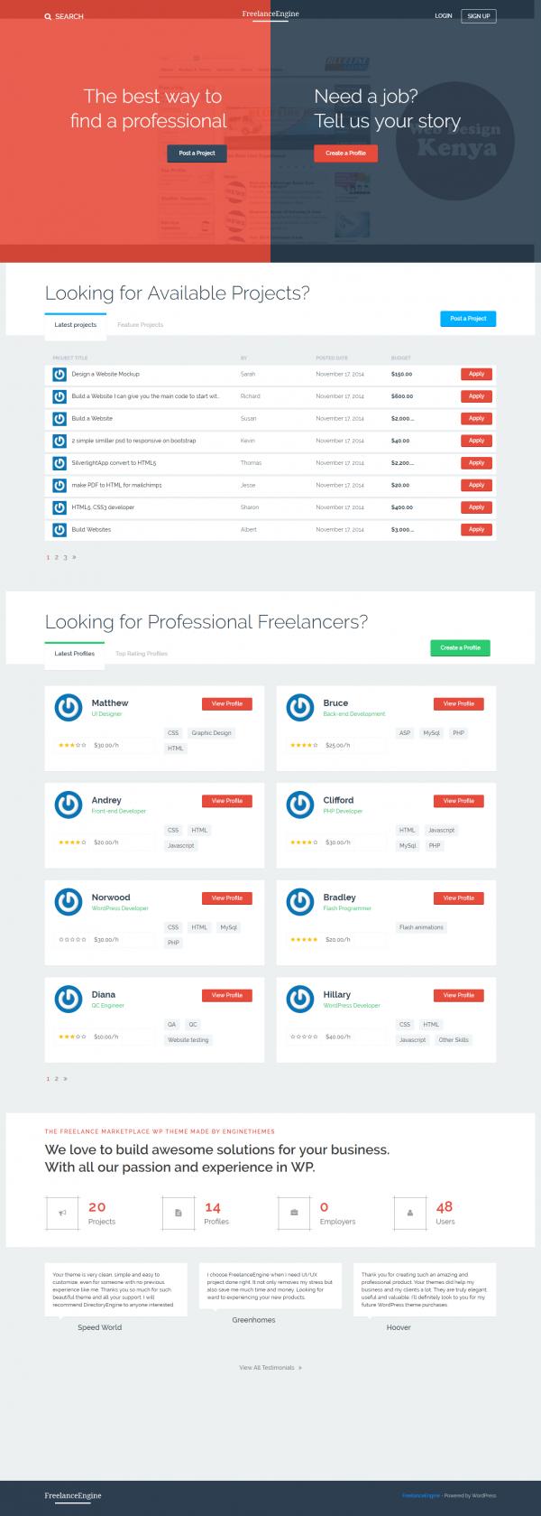 Freelance Engine