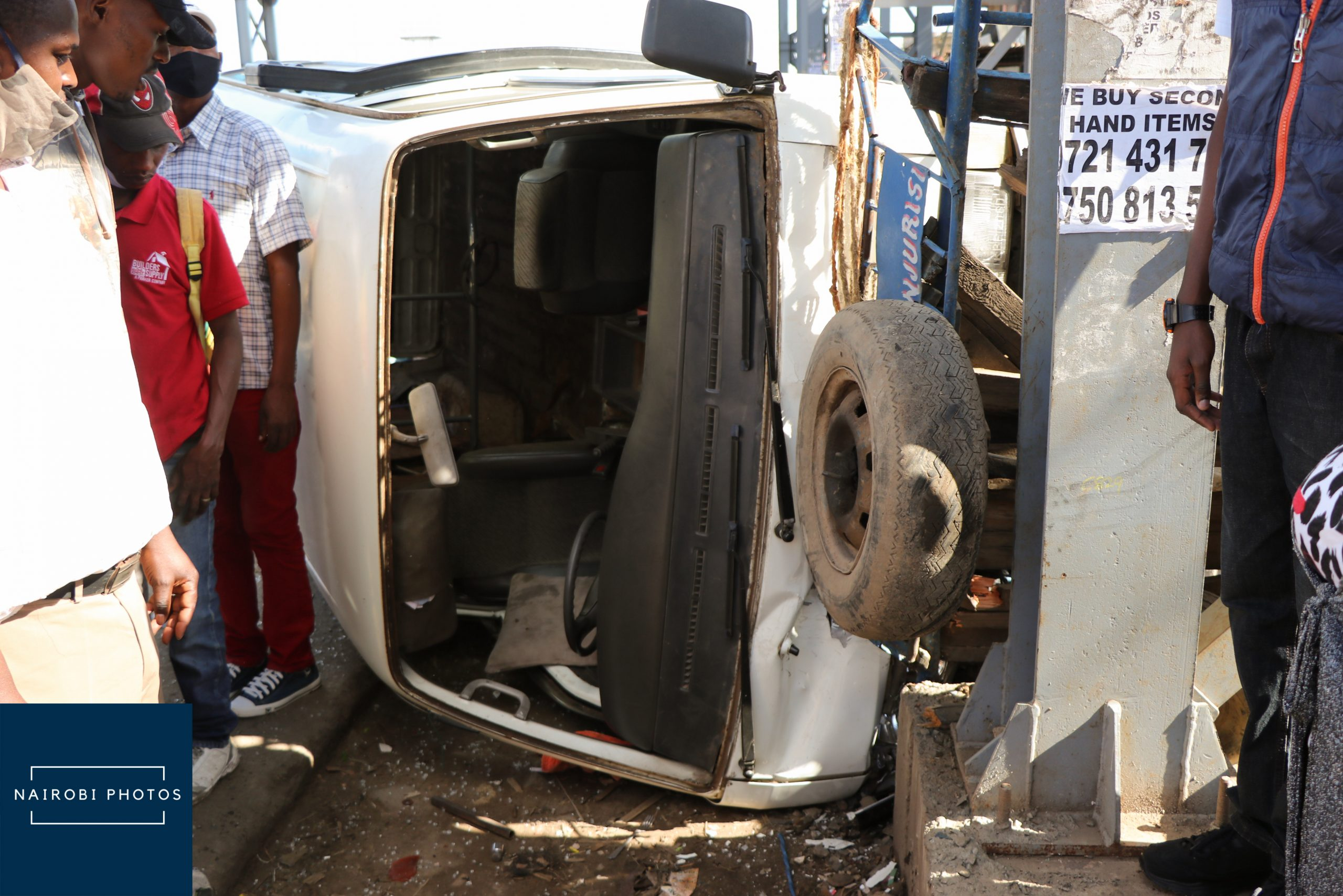 Accident Along Outering Road