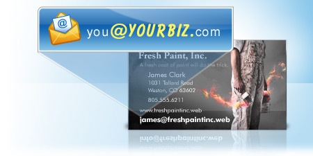 Still Using Gmail/Yahoo Email Address for your Business?