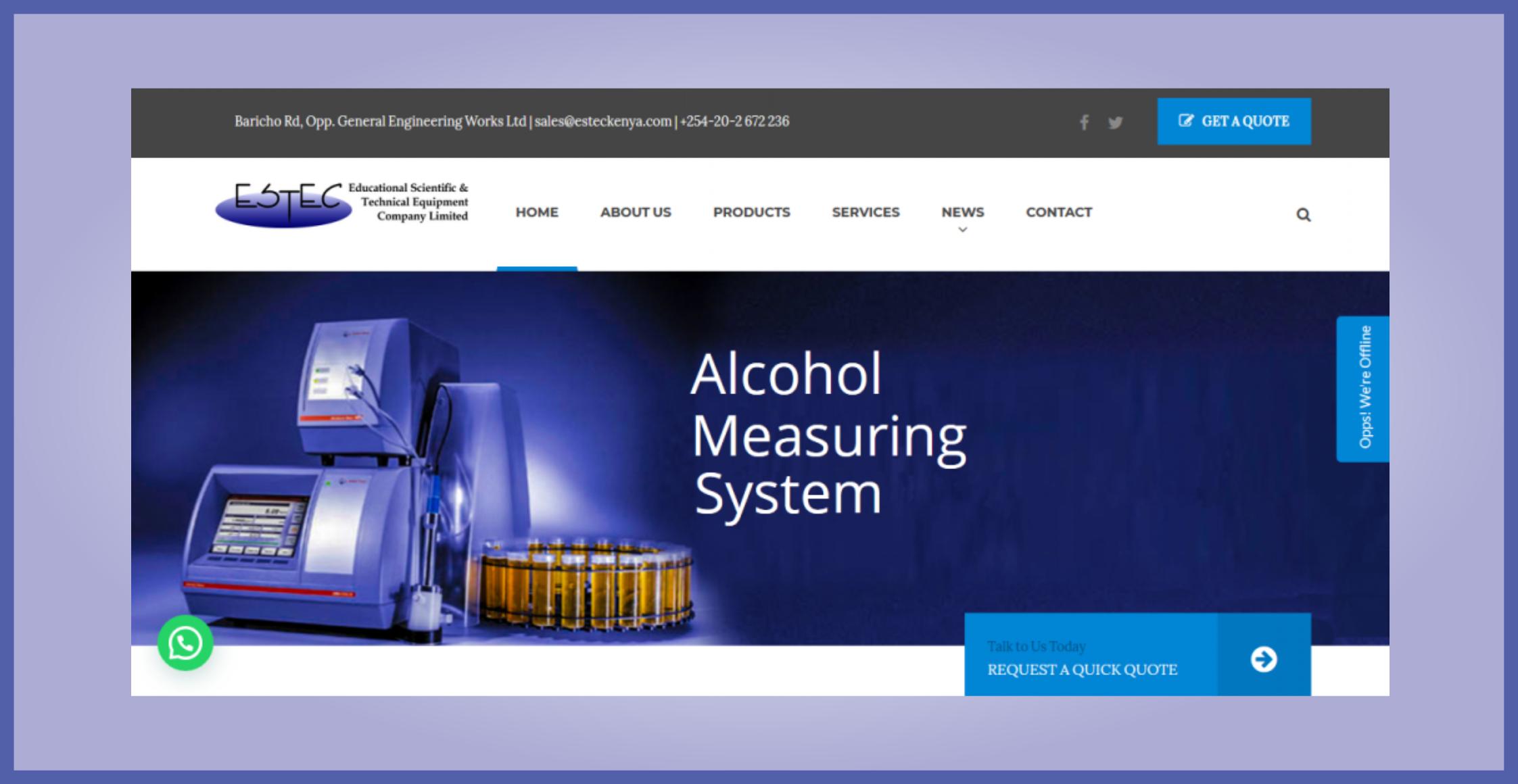 EstecKenya.com - Educational Scientific & Technical Company